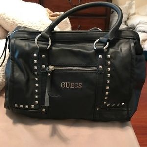 Guess Black Bag with Studs